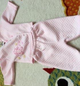 Костюмчик детский 3-6 месяцев