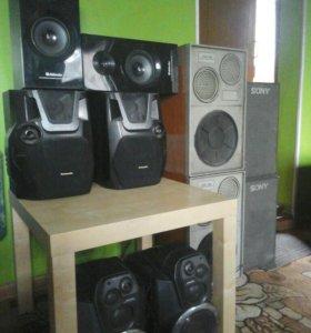 Колонки аудиосистемы