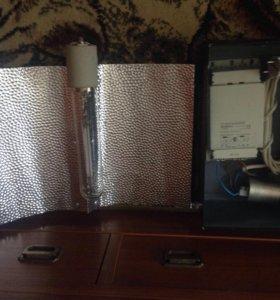 Лампа 600 ват с отражателем