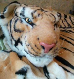 Плюшевая игрушка шкура тигра