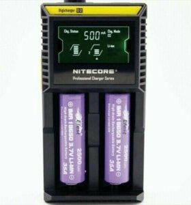 Зарядное устройство для АКБ Nitecore d2