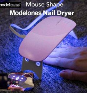 Мини УФ лампа для сушки ногтей