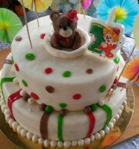 Изготовление тортиков