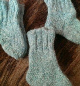 Носочки шерстяные новые