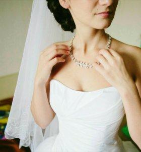 Пышное свадебное платье р. 40-44