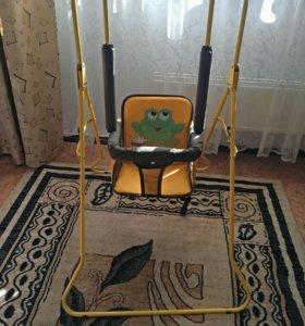 """Качели напольные """"Крепыш"""""""