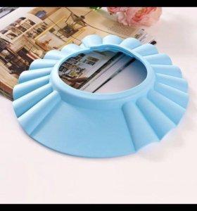 Ободок на голову для купания( голубой, розовый)