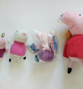 Новые Игрушки Свинка Пеппа