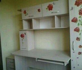 Комплект мебели (шкаф,кровать, стол, тумба выкатн)