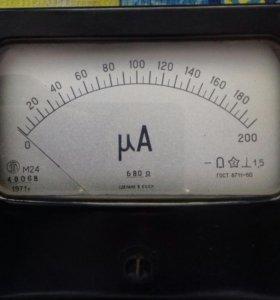 Микроамперметр М 24