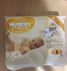 Подгузник Huggies 2 ка