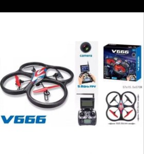Квадрокоптер wl toys v666 c FPV