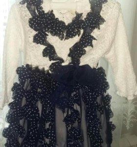 Платье на девочку с 1-2года
