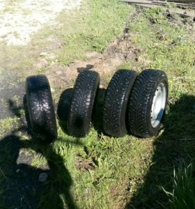 Зимние шипованные колеса