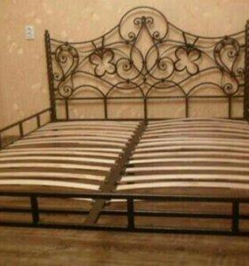 Красивые кровати. Ковка