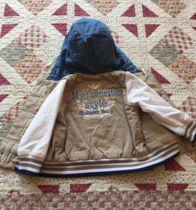 Куртка детская рост 86,производства Gulliver