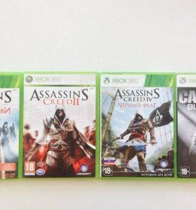 Игры для Xbox360. Assassins creed.