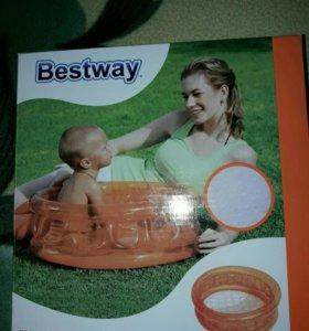 Надувной бассейн Bestway Kiddie 51112.