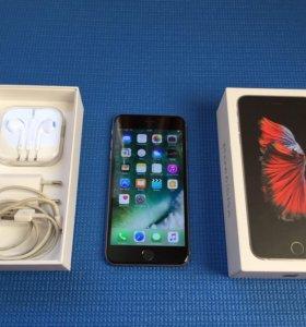 iPhone 6s Plus space gray как новый