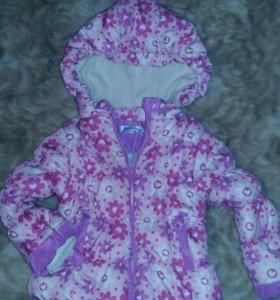 Детская куртка и комбенезон. Зимняя.