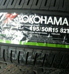 195/50 R15 YOKOHAMA, новые
