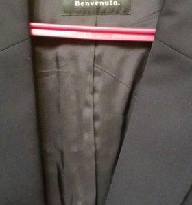 мужской пиджак+пальто