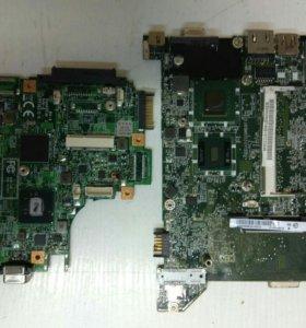 Материнки нетбуков на запчасти Acer и MSI