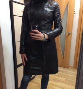 Пальто из натур. кожи