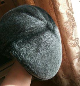 Зимняя шапка-кепка мужская