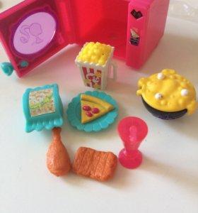 Еда для кукол и микроволновка