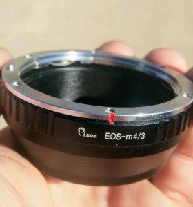 Canon eos > m4/3