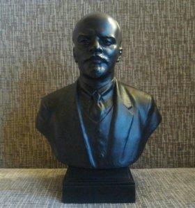 Бюст Ленина металл времен СССР Ленин