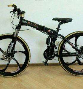 Велосипед ауди складной