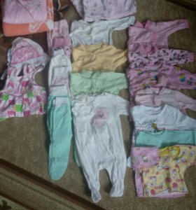 Вещи на девочку с рождения