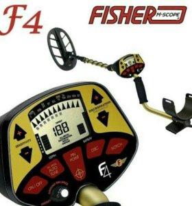Металлоискатель Fisher f4