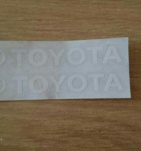 Наклейка Toyota
