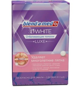 Oral-B 3D White Luxe Отбеливающие полоски