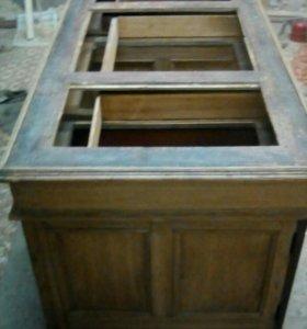 Старинный Двутумбовый Стол