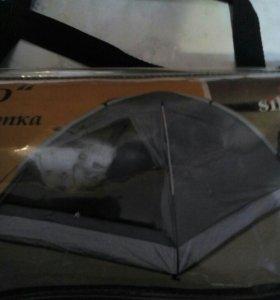 Палатка шатровая 2-х местная
