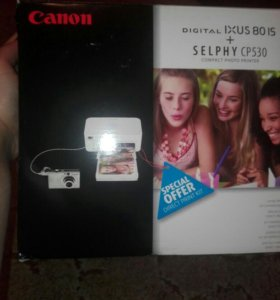 Canon selphy CP530 compact photo printer