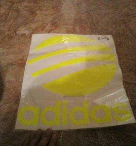 Наклейка adidas