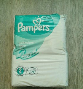 Pampers premium care 2 60 шт