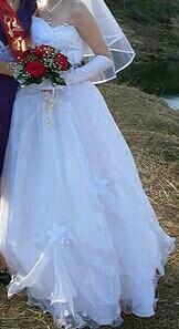 Продам свадебное платье. Торг.