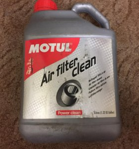 Жидкость для очистки воздушных фильтров Motul 5л