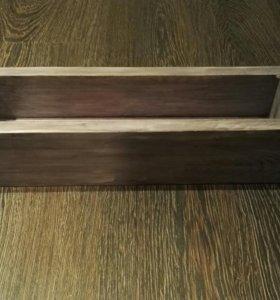 Декоративный ящик с небольшим эффектом старины