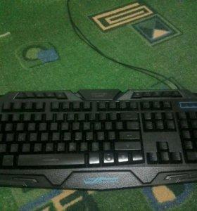 Клавиатура с подсветкой (мембранная)