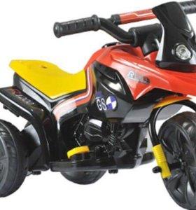 "Электромобиль ""Мотоцикл-мотор 15Вт"" 1TOY"