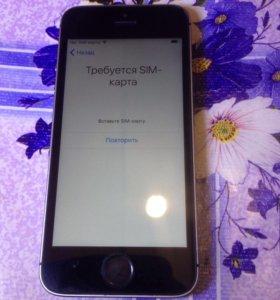 iPhone 5s, заблокирован