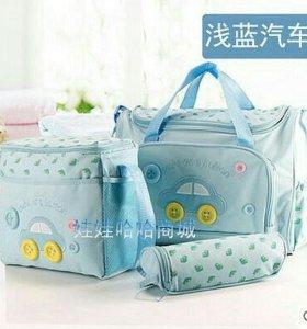 Наборы сумок для мам и малыша