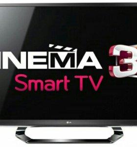 """Телевизор 42"""" LG 42LM620T /LED/FullHD/SmartTV/3D"""